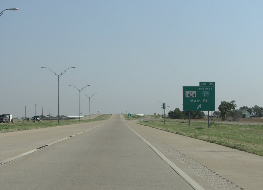 Future extensions to Interstate 27 in Texas would benefit hot shot ...