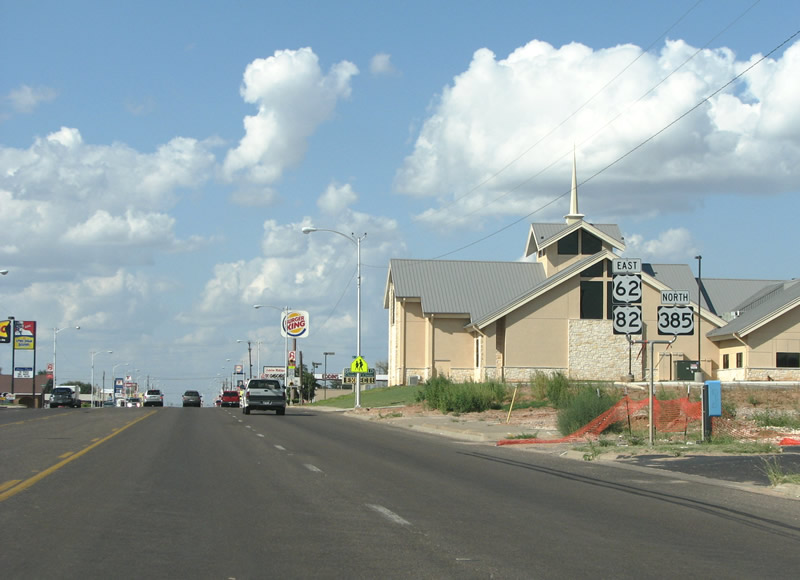 How Much Is Sales Tax In Texas >> Texas @ AARoads - U.S. Highway 82 Eastbound (New Mexico to ...