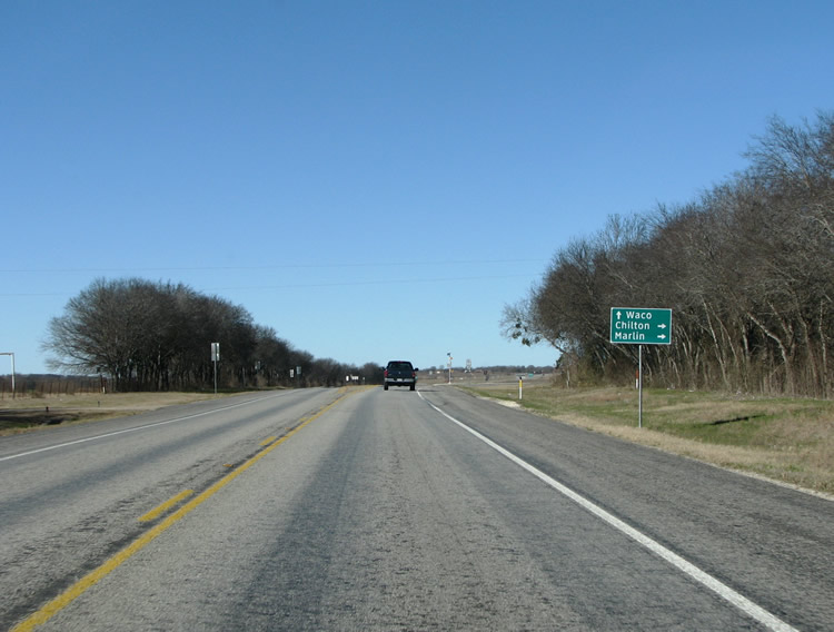 Texas @ AARoads - U.S. Highway 77 North (Rockdale to Waco)