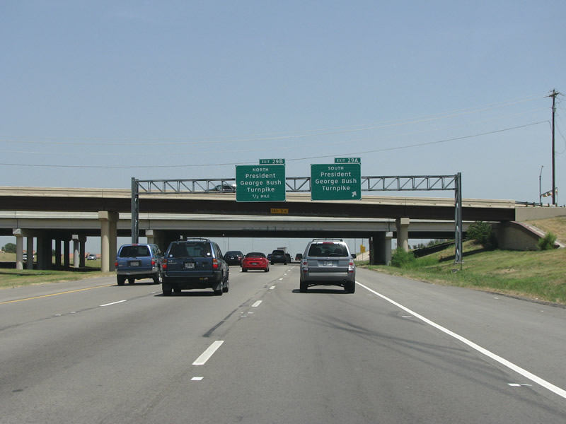 Texas @ AARoads - Interstate 635 East