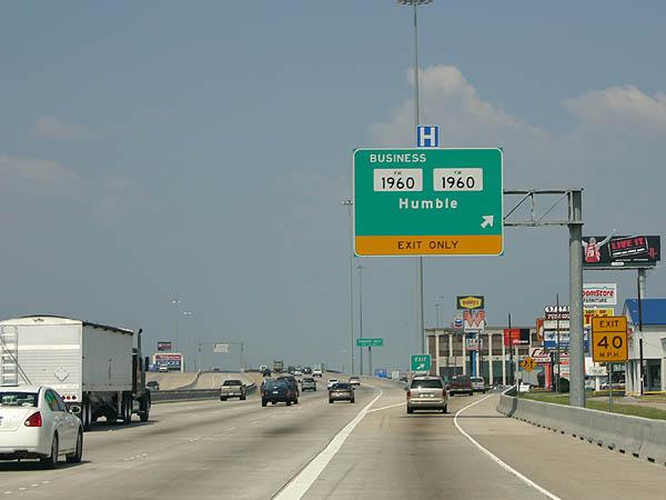 Texas Aaroads U S Highway 59 North Houston
