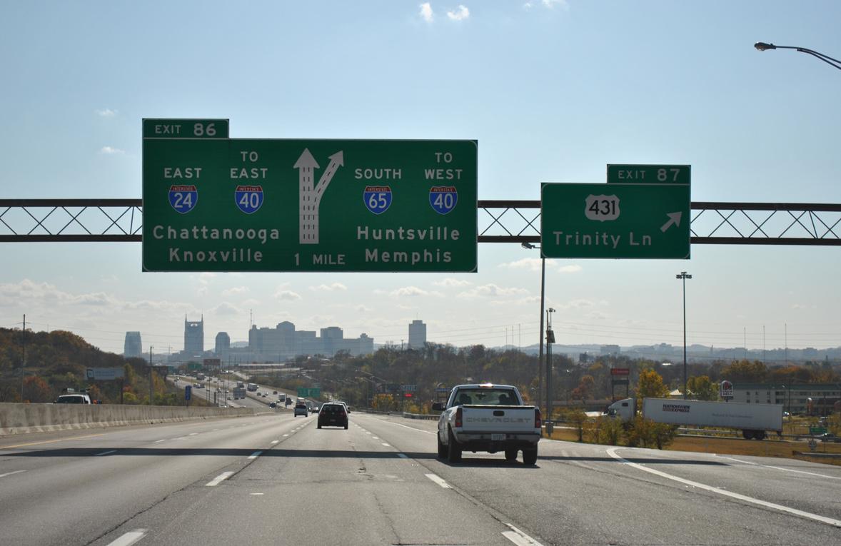 Interstate 65 South - Nashville / Davidson County - AARoads