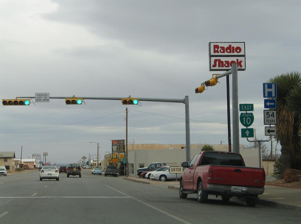 Business Loop I 10 Van Horn Aaroads Texas Highways