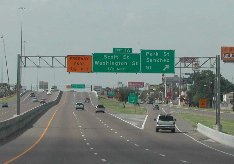 Interstate 35 South Laredo Aaroads Texas Highways