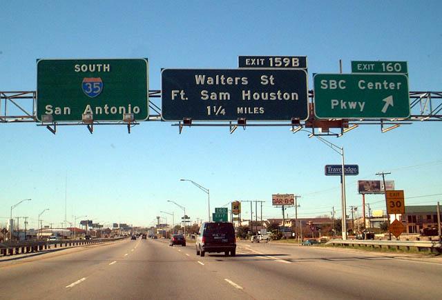Interstate 35 South San Antonio Aaroads Texas Highways