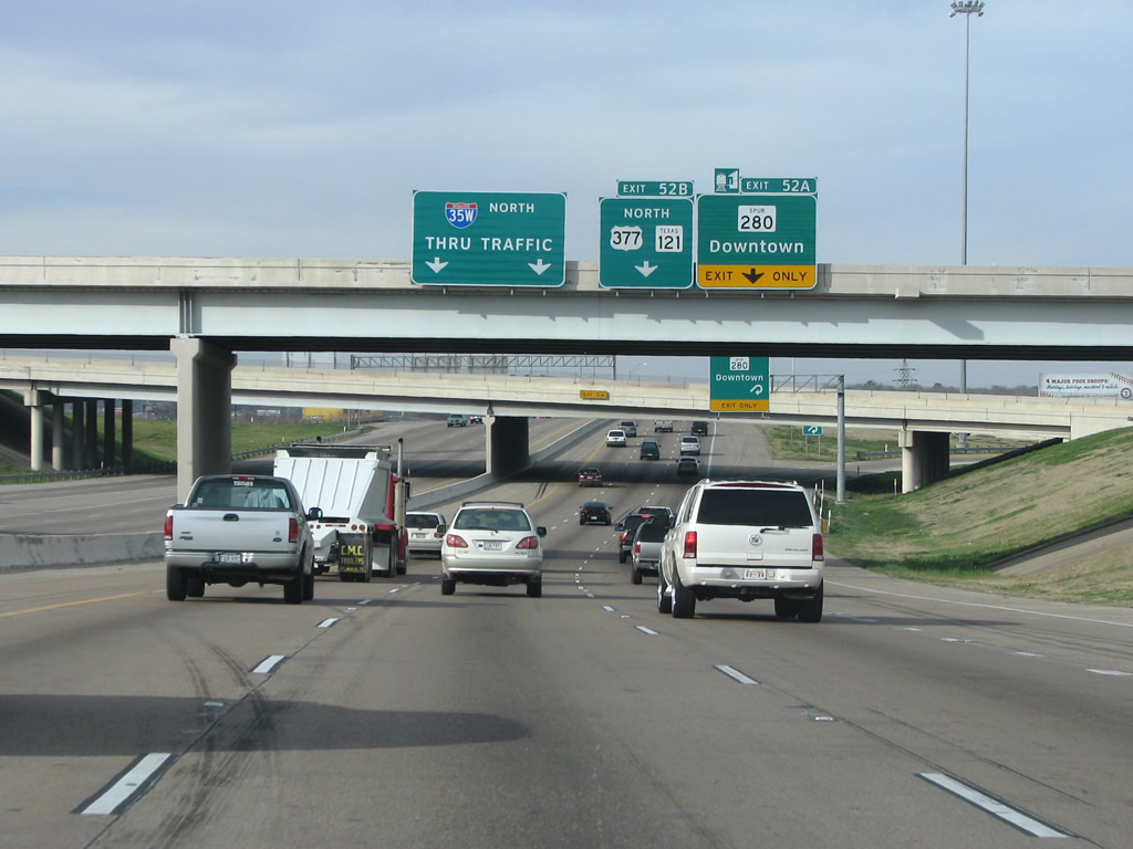 Interstate 35w North Fort Worth To Haslet Aaroads Texas Highways