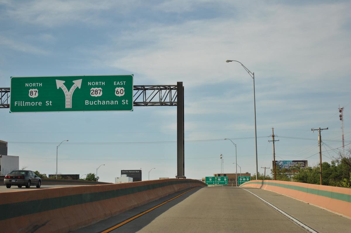 U S 287 North Amarillo Aaroads Texas Highways