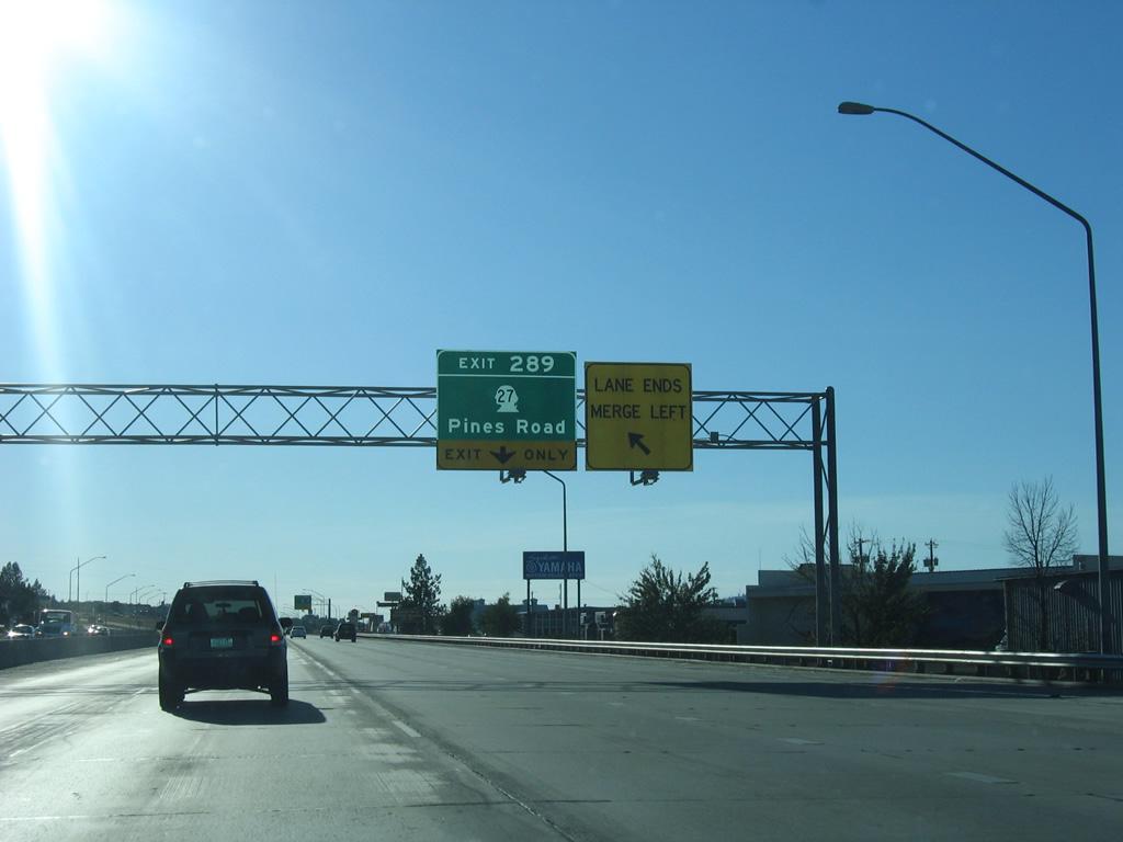 Interstate 90 West - Spokane County East - AARoads ...