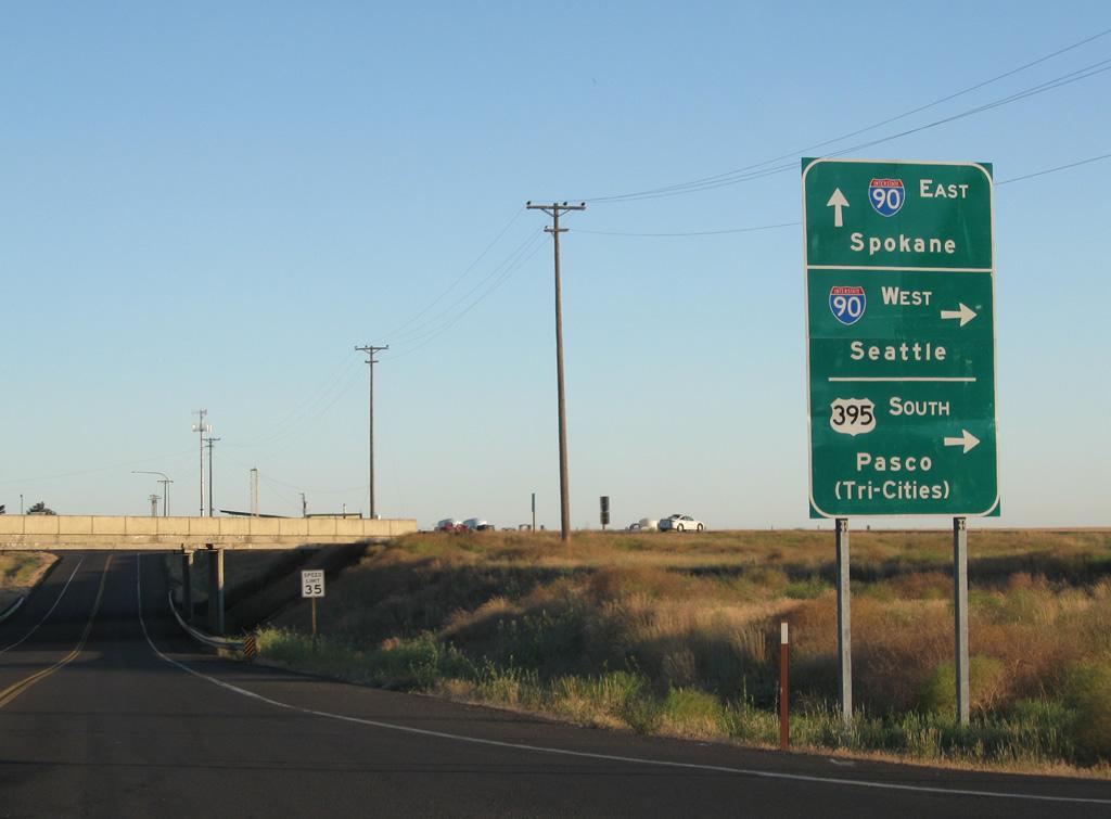 Interstate 90 Aaroads Washington - Us-interstate-90-map