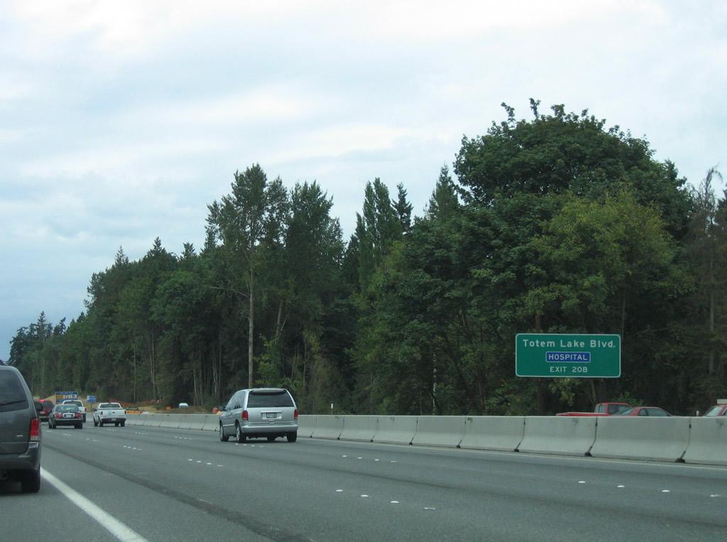 Interstate 405 North - Bellevue to Lynnwood - AARoads