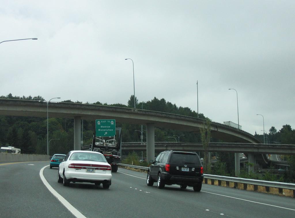 Interstate 405 South - Lynnwood to Bellevue - AARoads