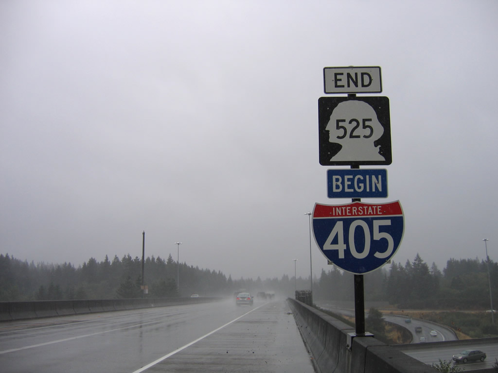 Interstate 405 South - Lynnwood To Bellevue - Aaroads