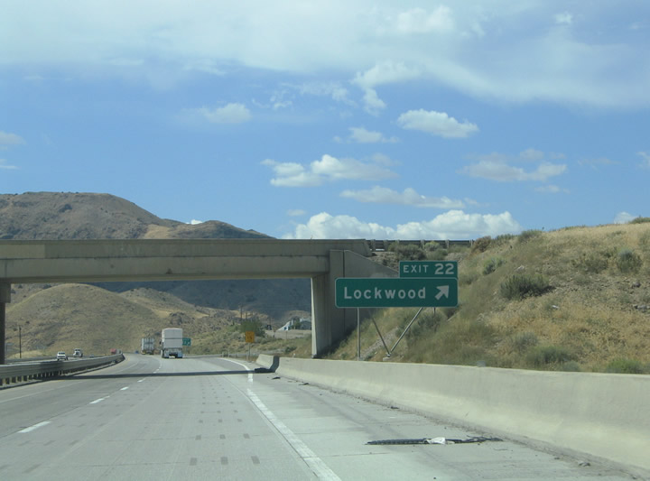 Nevada Aaroads Interstate 80 West Fernley To Sparks