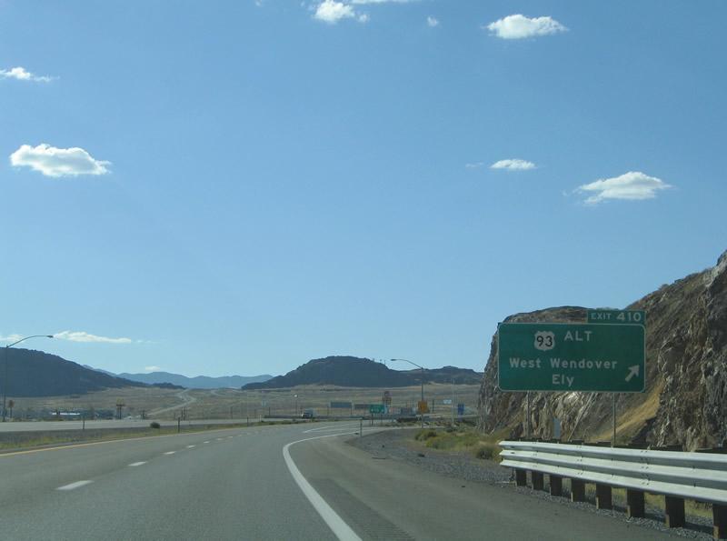 Nevada @ AARoads - Interstate 80 West (Utah to Wells)