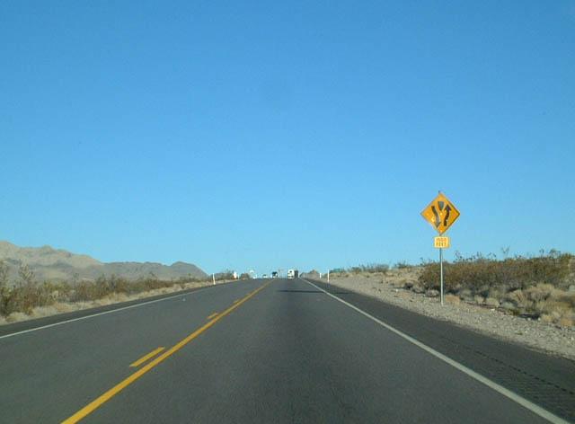 Pahrump To Las Vegas >> Nevada @ AARoads - U.S. Highway 95 Southbound (Amargosa ...