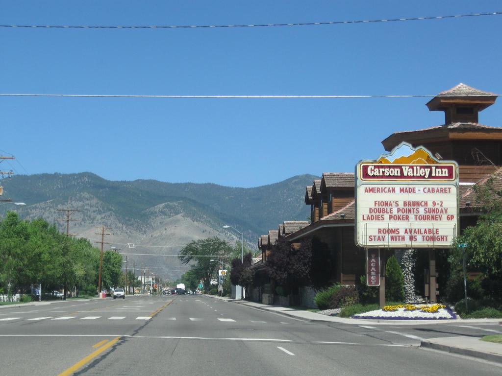 Nevada   Aaroads - U S  395 North