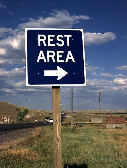 Highway 20 rest area