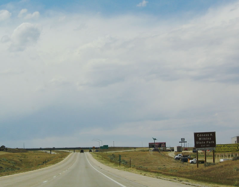 Wyoming @ AARoads - Interstate 25 Northbound - Natrona County