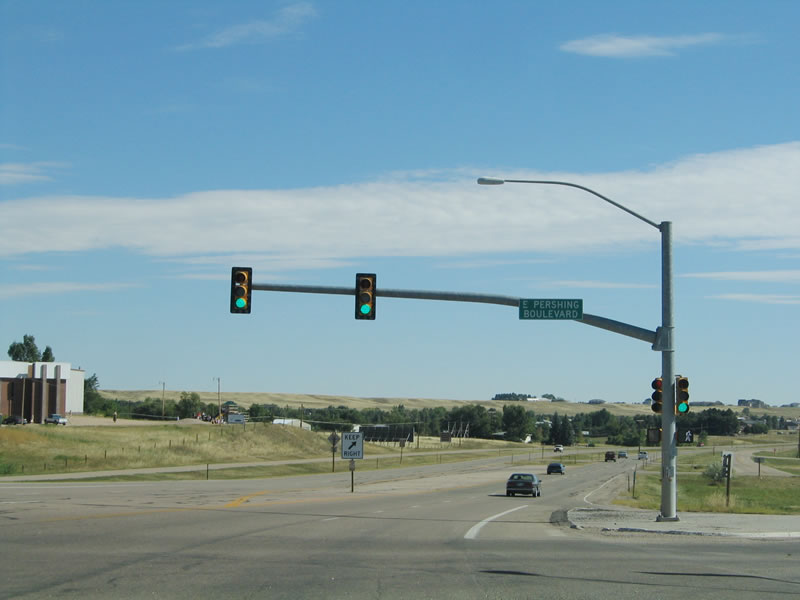 After The Pershing Boulevard Intersection U S 30 Widens Out To Four Lanes With A Median Barrier In Some Maps That Date To The Early 1960s There May Have
