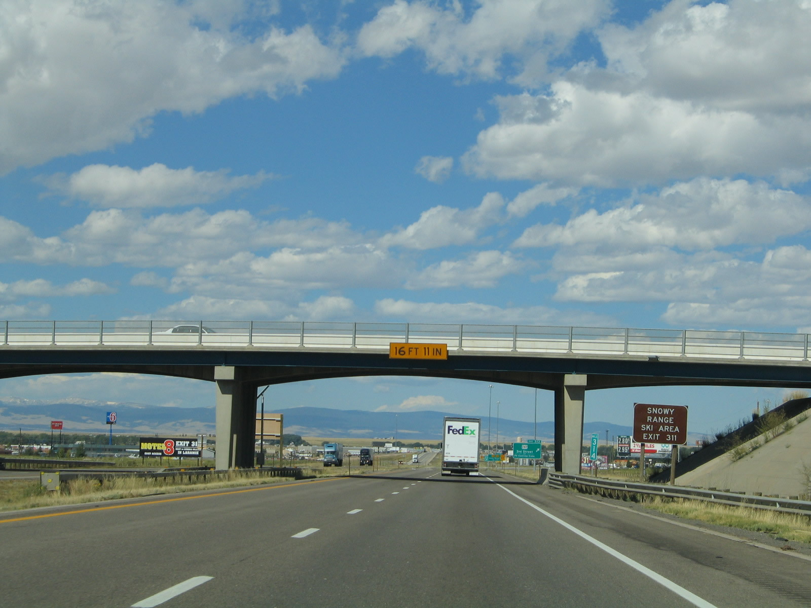 Wyoming Aaroads Interstate 80 Westbound Albany County