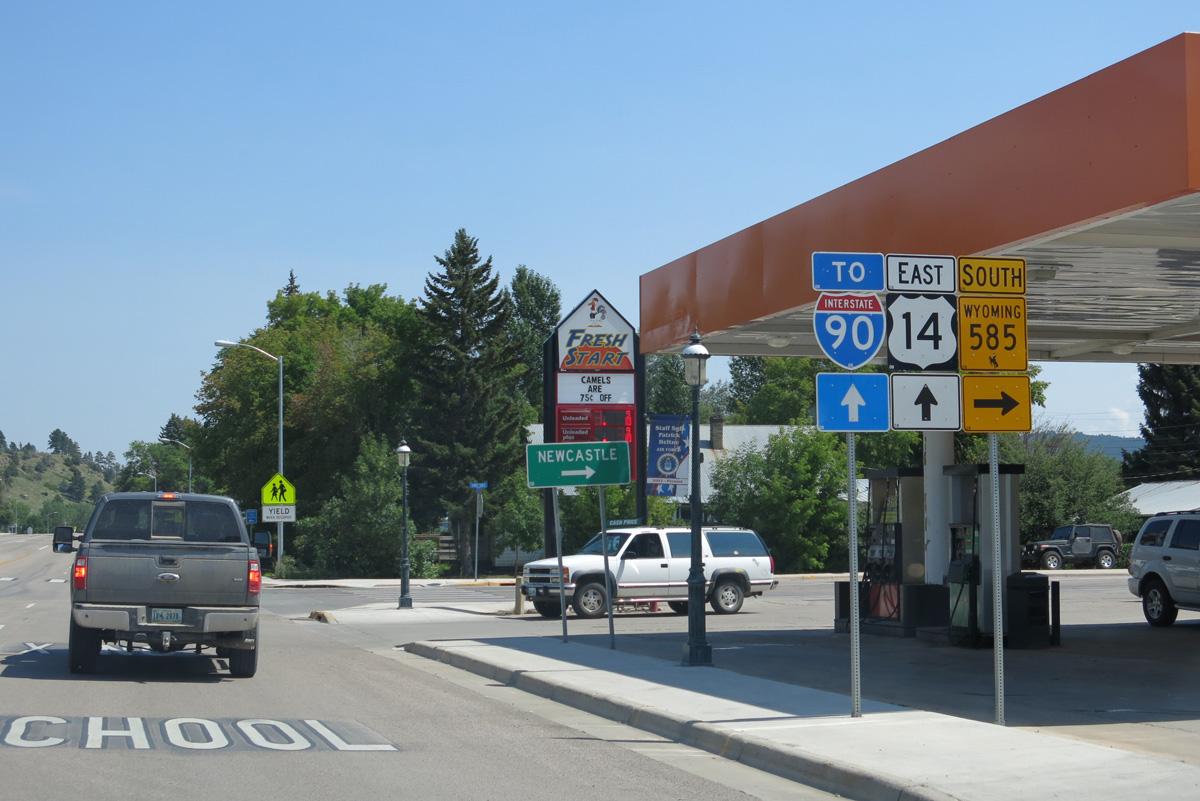 Business Loop I-90 - Sundance - AARoads - Wyoming