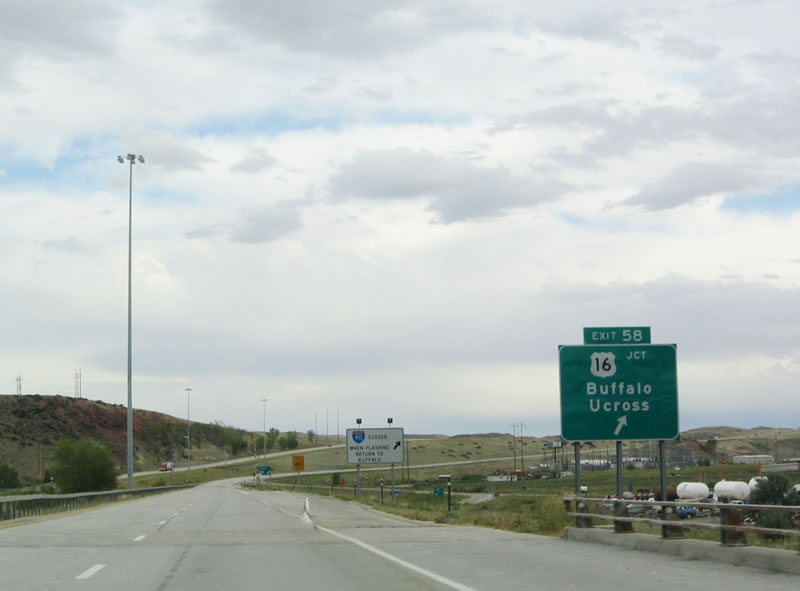 City To City Mileage >> Wyoming @ AARoads - Interstate 90 (Eastbound in Johnson County)