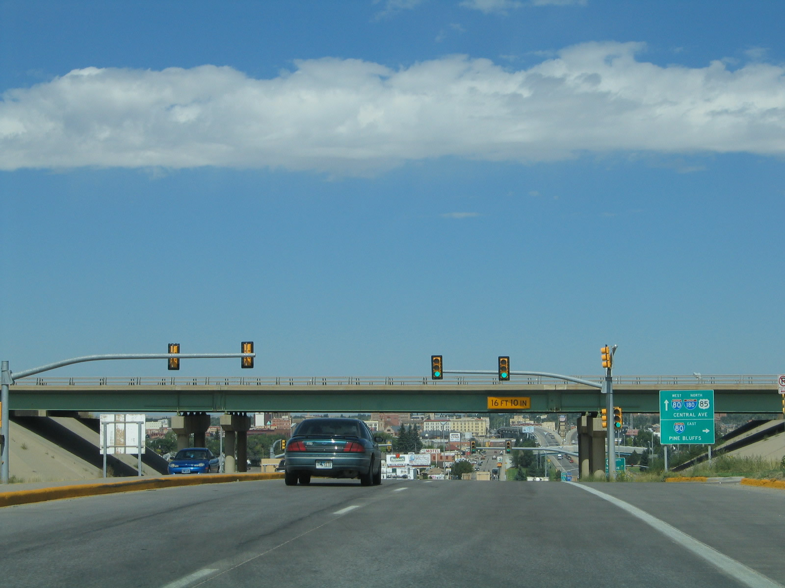 Northbound Business Loop I 25 US 85 and