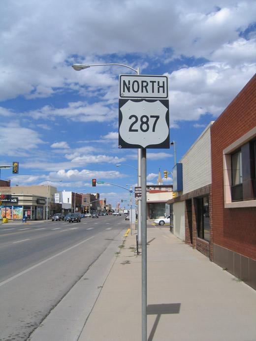 U S Highway 287