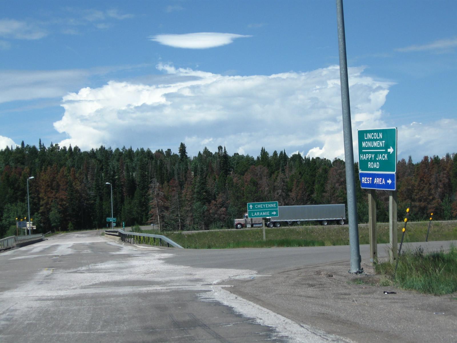 Wyoming @ AARoads - Wyoming 210 (Happy Jack Road)