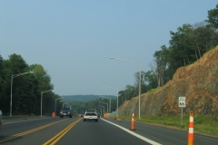 Route 66 eastbound beginning