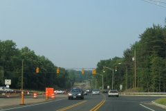 Route 66 east at Route 147