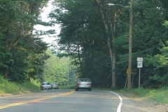 Route 147 southbound beginning