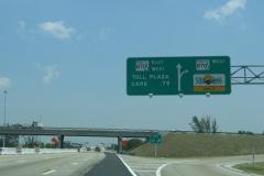 North at SR 870