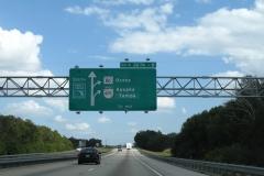 Approaching SR 50 / SR 429