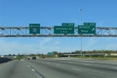 I-35 south at Antioch Rd