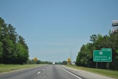 I-65 north at Exit 128