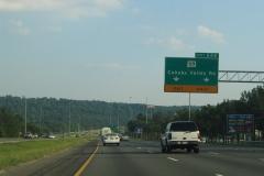 1/4 mile north of SR 119