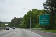 2 miles north of I-459