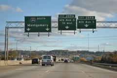 3/4 mile north of Exit 259B