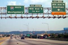 South at Exit 260