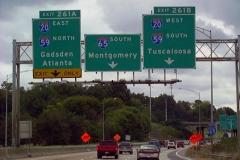 1 mile north of I-20/59