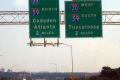 2 miles north of I-20/59