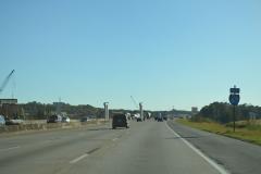 South at I-22 construction