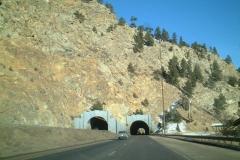 I-70 east Twin Tunnels