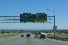 I-70 east at US 6 / 6th Av