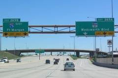I-70 east at SH 121