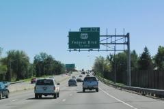 I-70 east at Pecos St Denver