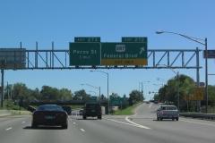 I-70 east at US 287 Denver