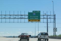 I-70 east at I-25 Denver