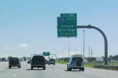 I-70 east, 2 miles from I-225